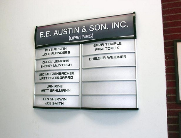Directory Signs | Libertyville IL