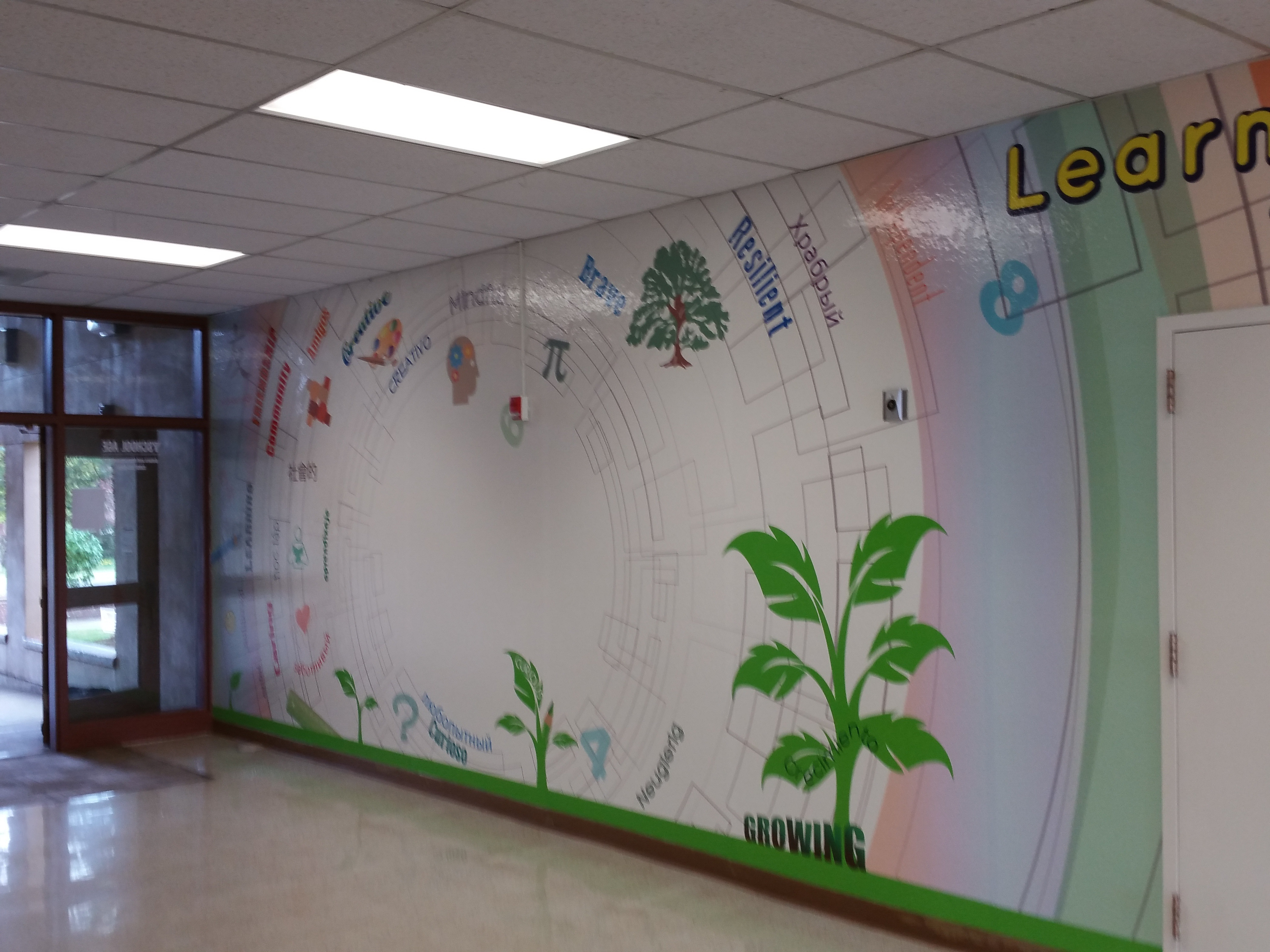 Wall Graphics Lake Bluff Lake Forest Chicago Il