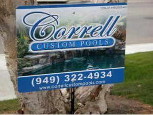Large Lawn Signs in Lake Bluff IL
