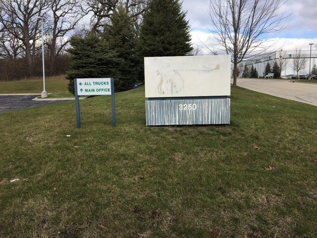 Monument Sign Refurbishing in Waukegan IL